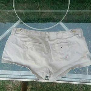 Hollister Shorts - Hollister Short Khaki Shorts 0